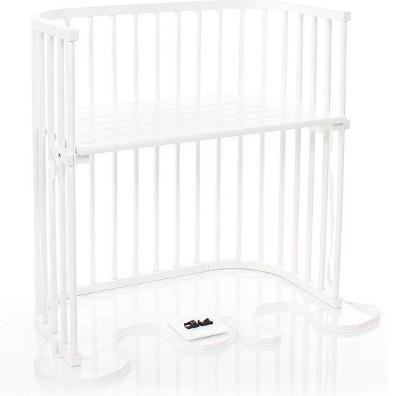 Co-sleeper baby wieg hout Babybay Bijstelbed Boxspring